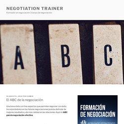 El ABC de la negociación efectiva
