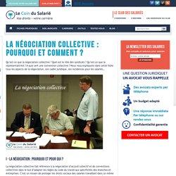 La négociation collective