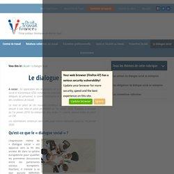 Dialogue social - négociation en entreprise - document unique
