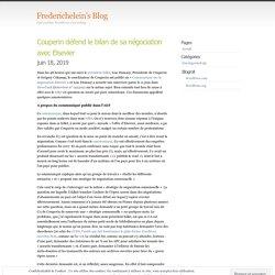 Couperin défend le bilan de sa négociation avec Elsevier