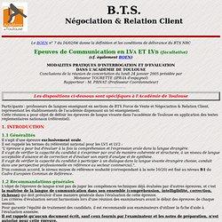 BTS Négociation & Relation Client