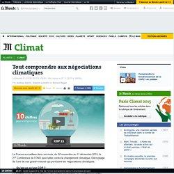 Tout comprendre aux négociations climatiques
