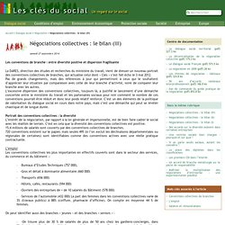 Négociations collectives : le bilan (III)