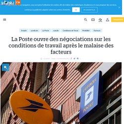 La Poste ouvre des négociations sur les conditions de travail après le malaise des facteurs - Le Parisien