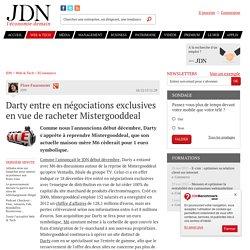 Darty entre en négociations exclusives en vue de racheter Mistergooddeal