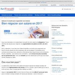 Quand et comment bien négocier une augmentation de salaire en 2017 ?