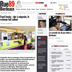 Food trucks : dur à négocier, le créneau fait saliver