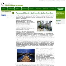Panama: El Centro de Negocios de las Américas