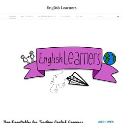 Non-Negotiables for Teaching English Learners - English Learners
