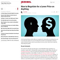 How to Negotiate for a Lower Price on Anything