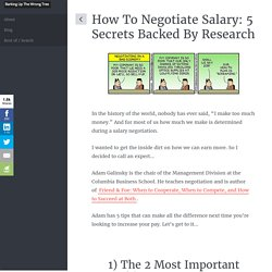 How To Negotiate Salary: 5 Secrets Backed By Research