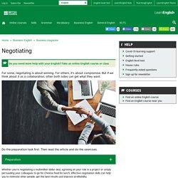 Business English - Business magazine