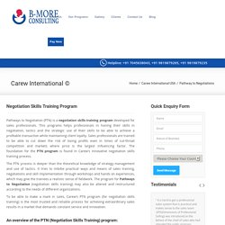 Best Institute To Learn Negotiation Skills - B-More Consulting