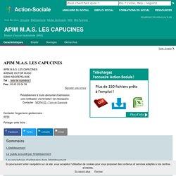 NEGREPELISSE : APIM M.A.S. LES CAPUCINES - Maison d'accueil spécialisée (MAS)