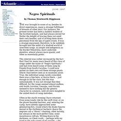Negro Spirituals - 1867.06