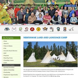 Nehiyawak Land and Language Camp