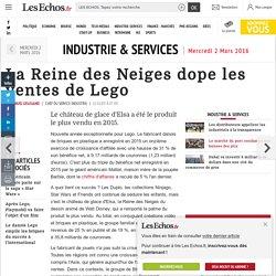 La Reine des Neiges dope les ventes de Lego, Industrie & Services