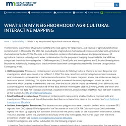 What's In My Neighborhood? Agricultural Interactive Mapping