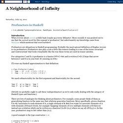 Profunctors in Haskell