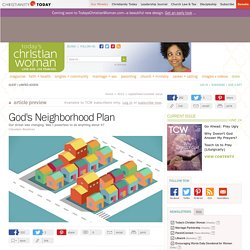 God's Neighborhood Plan