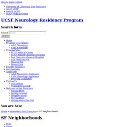 UCSF Neurology Residency Program