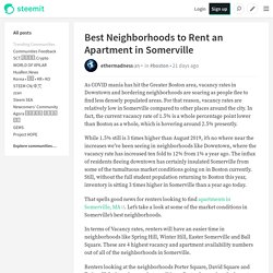 Best Neighborhoods to Rent an Apartment in Somerville