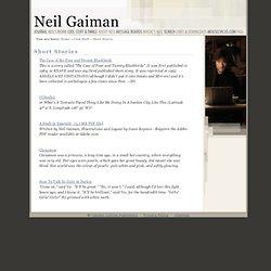 Neil Gaiman - Short Stories