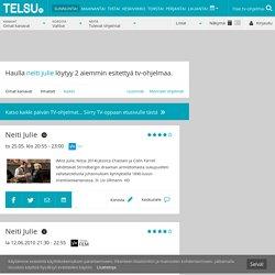 Neiti Julie ohjelmatiedot - Telsu.fi