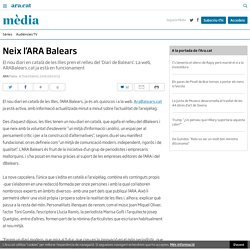Neix l'ARA Balears