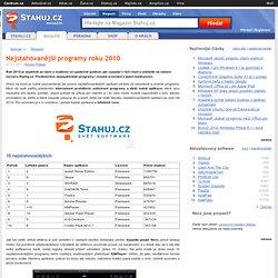 Nejstahovanější programy roku 2010 - Digitálně Stahuj.cz