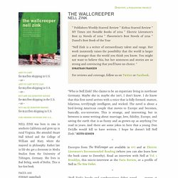 Nell Zink's The Wallcreeper – Dorothy