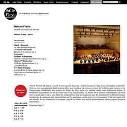 Nelson Freire (Salle Pleyel)