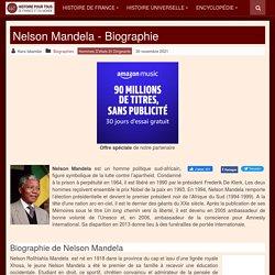 Nelson Mandela - Biographie