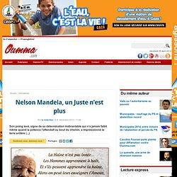 Nelson Mandela, un Juste n'est plus