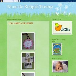Nens de Religió Tremp: abril 2013