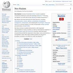 Neo-Nazism - Wikipedia