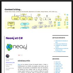 Neo4j et C# – Context is king…