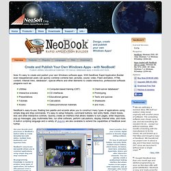 NeoBook Rapid Application Builder - Overview