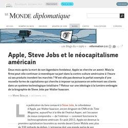 Apple, Steve Jobs et le néocapitalisme américain