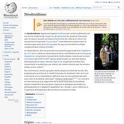 Néodruidisme/ wikipedia