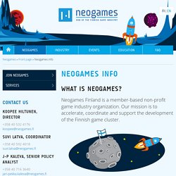 Neogames info