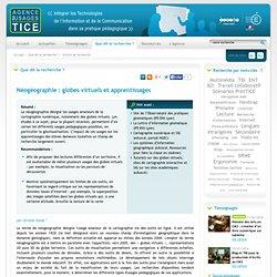 L'Agence nationale des Usages des TICE - Néogéographie : globes virtuels et apprentissages
