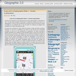 À quoi sert la néogéographie (Partie 1 : Annoter et géolocaliser) « Géographie 2.0