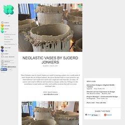 Neolastic Vases by Sjoerd Jonkers
