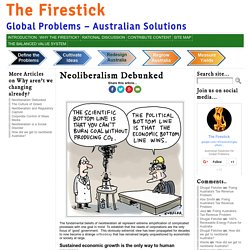 Neoliberalism Debunked « The Firestick