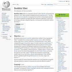 Neolithic Tibet