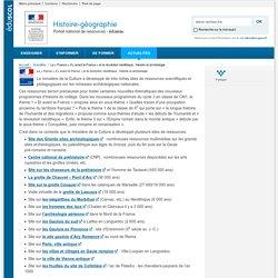 [Eduscol / ressources] La « France » d'avant la France » et la révolution néolithique