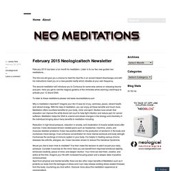 February 2015 Neologicaltech Newsletter