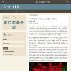 How Do Neon Lights Work?