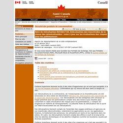 Note de réévaluation : Réévaluation des insecticides de la classe des néonicotinoïdes : mise à jour sur les évaluations des risques pour les pollinisateurs(REV2017-03, 25 janvier 2017) [Santé Canada, Agence de réglementation de la lutte antiparasitaire]